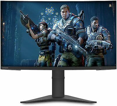 £194.95 • Buy Lenovo G27c-10 27  FHD Curved LED Gaming Monitor, Tilt / Height Adjustable Stand
