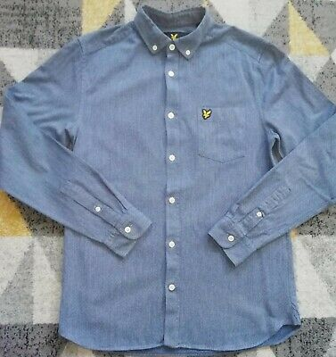 £9.99 • Buy Lyle And Scott Shirt Mens Size Small Vgc