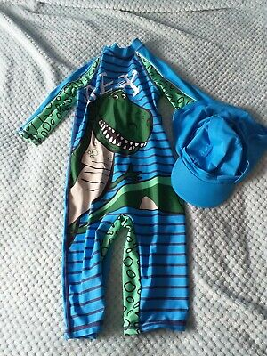 £5 • Buy Swimsuit All In One With Hat ( REX)
