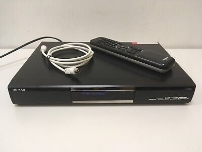 £39.99 • Buy Humax PVR-9300T Freeview+ 320GB Terrestrial TV Recorder Box PVR HDMI With Remote