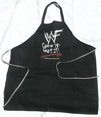 $1 • Buy WWF Official Apron For Men Gift Cooking Grill Chef Apron  New Rare No Reserve