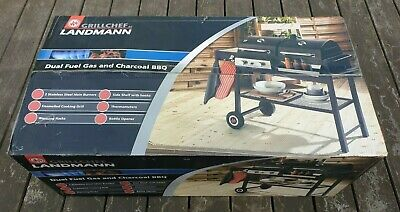 £270 • Buy Grillchef By Landmann, Dual Fuel Gas And Charcoal BBQ - Brand New, Boxed
