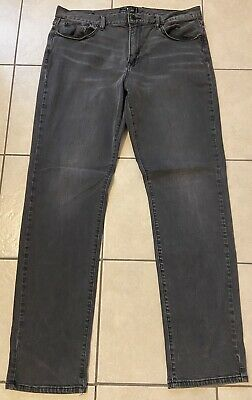 $36.95 • Buy Mens Lucky Brand Jeans Size W36 X L34 Los Angeles Black Distressed Vintage