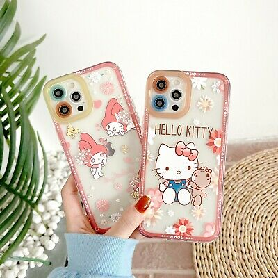 AU12.29 • Buy Girls Cute Hello Kitty Camera Protective Case Cover For IPhone 12 Pro Max 11 XR