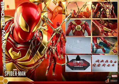 $ CDN330 • Buy 1/6 Hot Toys Marvel Spider-Man Iron Spider Armor Ver. Collectible Figure VGM38