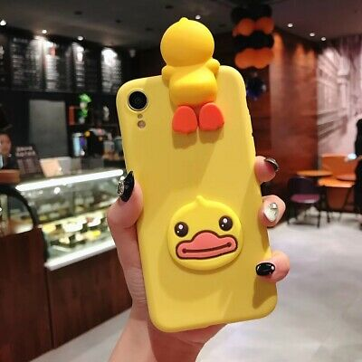 AU6.08 • Buy 3D Lovely Duck Panda Banana Phone Case For OnePlus One Plus 1+ 5 6 7 8 9 Pro