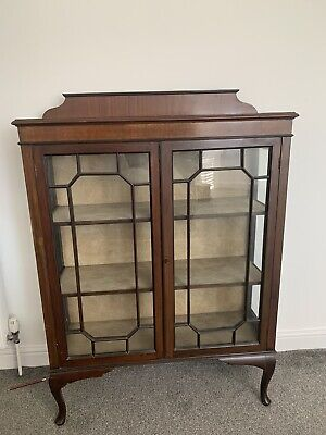 £110 • Buy Old Glass Display Cabinet