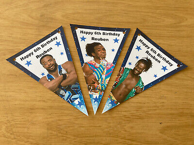 £2.99 • Buy Personalised Wwe New Day Bunting / Party / Decoration / Birthday
