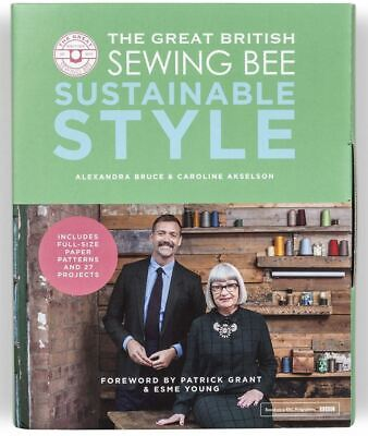 £12 • Buy NEW The Great British Sewing Bee Book Sustainable Style 27 Projects Hardcover