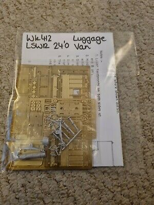 £16.80 • Buy LSWR 24'0 Luggage Van 4mm Scale Kit