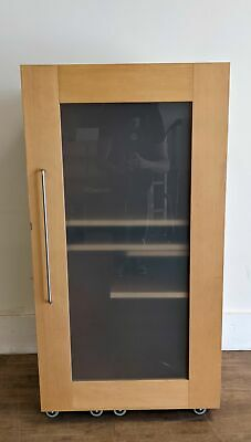 £49 • Buy Teemo Hideaway PC/Computer Workstation, Beech/Frosted Glass - 040821-01