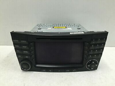 £199.95 • Buy 2004 Mercedes E Class W211 Cd Radio Tv Dvd Comand Unit A2118700089 Be7039 Tested