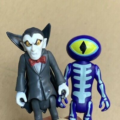 £3.63 • Buy 2x Scooby-Doo Collectable Dracula & The Skeleton Man 2.5'' Figure Villain Toys