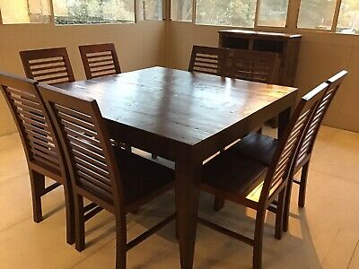 AU350 • Buy Square Dining Table & 8 Chairs