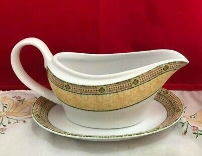£16.99 • Buy Wedgwood Home   Florence   Sauce / Gravy Boat And Underplate