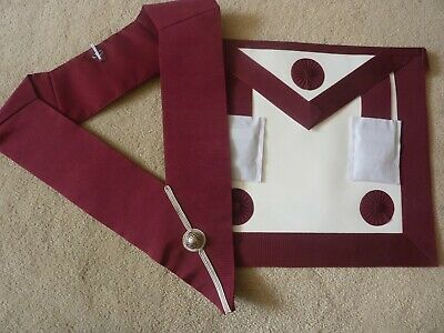 £20 • Buy Masonic Provincial Apron And Collar, Brother Steward