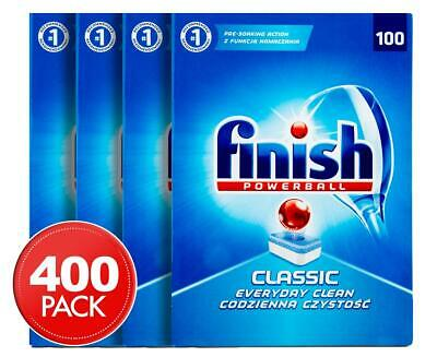 AU76.90 • Buy 400 Finish Powerball All In One Dishwashing Tablets Tabs /Express Shipping