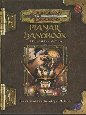AU99.80 • Buy DUNGEONS & DRAGONS Planar Handbook A Player's Guide To The Planes 3.5 July 2004