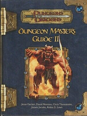 AU99.80 • Buy DUNGEONS & DRAGONS Dungeon Master's Guide II 3.5 Hard Cover 1st Print June 2005