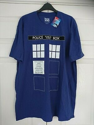 £15 • Buy Official BBC Dr Who Universe Tardis Police Box T Shirt - New With Tags