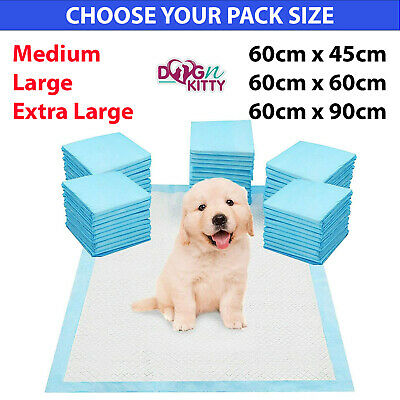 £11.49 • Buy  Heavy Duty Large Puppy Training Pet Pads Floor Wee Pee Toilet Pad Dog Cat Mats