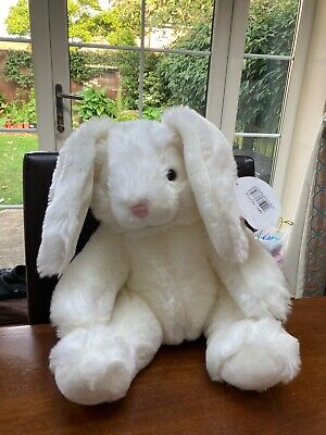 £7.50 • Buy Bear Factory White Rabbit & original Tags Excellent Condition Now Build A Bear