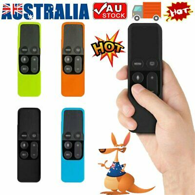 AU8.47 • Buy Remote Controller Case Silicone Protective Cover Skin For Apple TV 4th Gen FZ