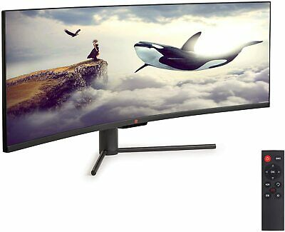 AU1050.56 • Buy Deco Gear 43  Curved Ultrawide E-LED Gaming Monitor New!!!!!