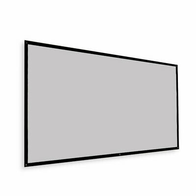 AU65.99 • Buy 120 Inch 16:9 Portable Foldable Grey HD Outdoor Home Theatre Projector Screen