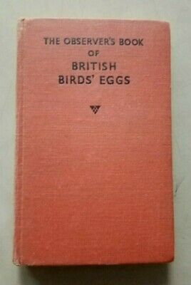 £9.75 • Buy The Observer's Book Of BRITISH BIRDS' EGGS Compiled By G. Evans 1954 Hb VINTAGE