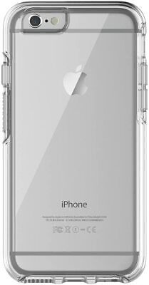 AU14.60 • Buy OtterBox IPhone 6/6s Drop Proof Symmetry Slim Rugged Frost Clear Back Case Cover