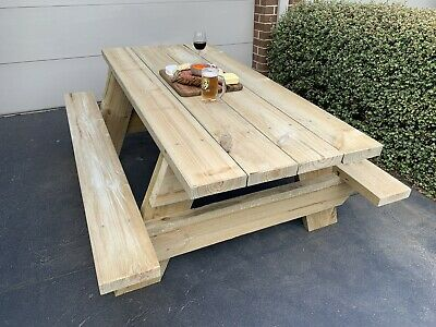 AU400 • Buy Picnic Table - Timber NEW Outdoor Setting