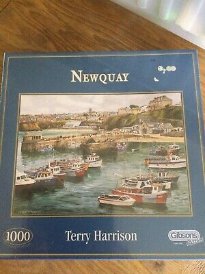 £13.80 • Buy Terry Harrison Jigsaw Puzzle - Newquay (New) 1000 Piece Gibson Puzzles