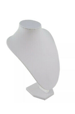 £8 • Buy 30cm Tall Necklace Pendant Display Bust - Jewellery Mannequin Stand Holder Rack