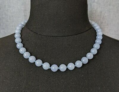 £38 • Buy Lovely Vintage Faux Aquamarine  Knotted Necklace By Trifari Jewellery