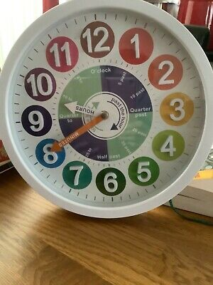 £10 • Buy Childs Learning Clock