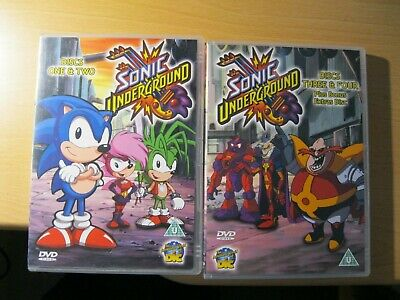 £19.25 • Buy Sonic Underground : The Complete Series - Dvds, Used, Uk Reg 0, 40 Episodes,1998