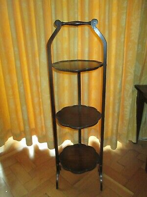 £20 • Buy Vintage Cake Stand Wooden Collapsible. Free Collection Ch61