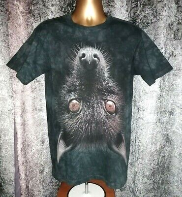 £14.99 • Buy Rare The Mountain Men's S Black Short Sleeve Upside Down Wolf Graphic T-Shirt