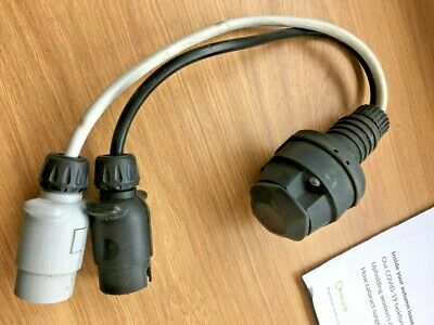 £4.99 • Buy 13 Pin To 7 Pin Adapter Lead