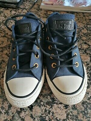 £20 • Buy Converse All Star Navy Blue Suede Leather. Size Uk 4.