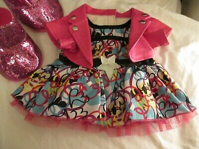 £5 • Buy Build A Bear Workshop Outfit Party Dress Pvc Jacket  And Sparkly  Boots