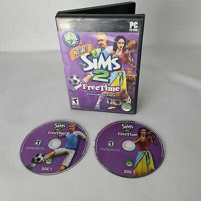 £10.17 • Buy The Sims 2 Freetime PC Game Windows Complete 2008 Expansion Pack