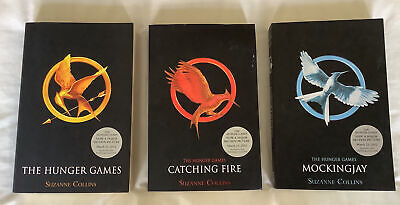 £2.99 • Buy The Hunger Games, Catching Fire And Mockingjay Job Lot Of Books