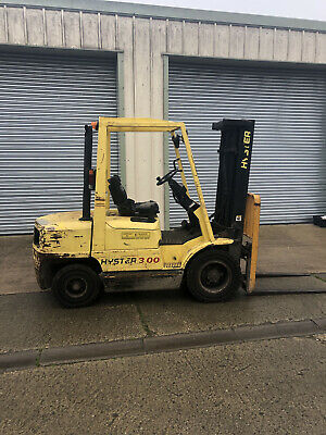 £7500 • Buy Hyster Diesel 3 Ton  Counterbalance Forklift Truck/ Like Toyota Nissan Caterpill