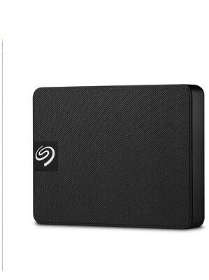 AU85 • Buy Seagate External Solid State Drive 500GB Portable SSD USB 3.0 - Black STJD500400