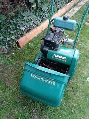 £99 • Buy Qualcast Classic 35s Petrol Lawn Mower.(Atco Suffolk Punch) Self Propelled