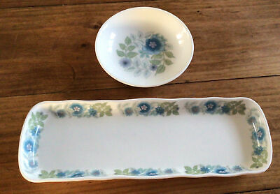 £14 • Buy 2 Wedgwood Clementine Pieces  Butter Pat / Trinket  Dish  And Pen Tray
