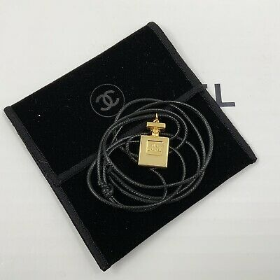 £75 • Buy New, Chanel Necklace/choker, With Classic No 5 Miniature Pendant