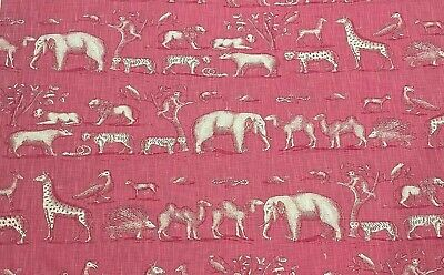 £24.95 • Buy Andrew Martin Fabric Remnant  Kingdom  75 X 145 Cm Linen Blend, S.seconds